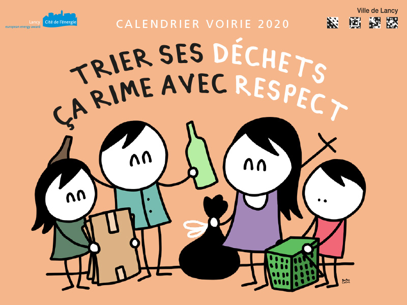 Calendrier voirie 2020